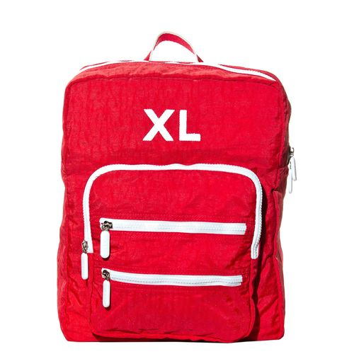 XL-ExtraLarge-SANDRO-mochila-cartera-red