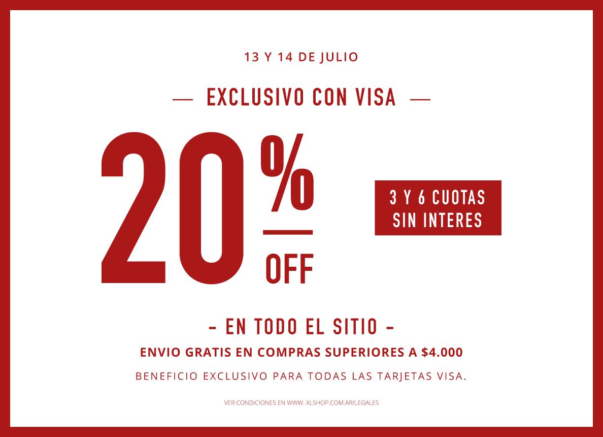 20% visa